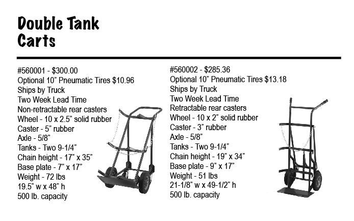 Double Tank carts